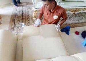 dịch vụ vệ sinh ghế sofa da, ghế salon da