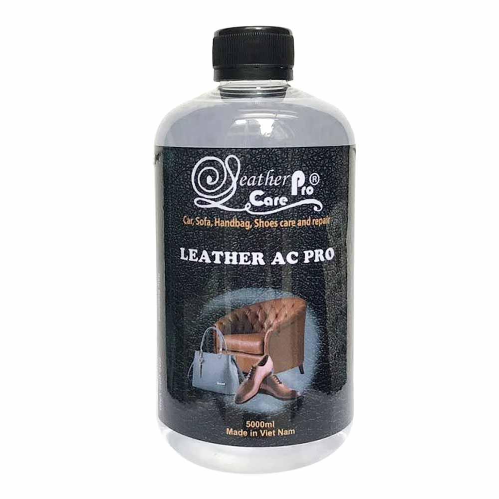 Dung môi làm sạch bề mặt ghế da trước khi sơn, nhuộm – Leather AC Pro