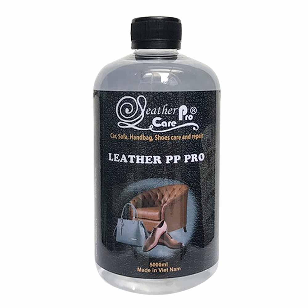 Dung môi tẩy bỏ sơn cũ bề mặt ghế Sofa da, ghế da xe hơi – Leather PP Pro