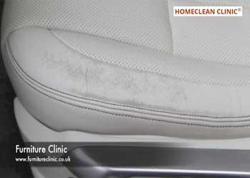kỹ thuật sửa chữa ghế da ô tô bị phai màu bạc màu