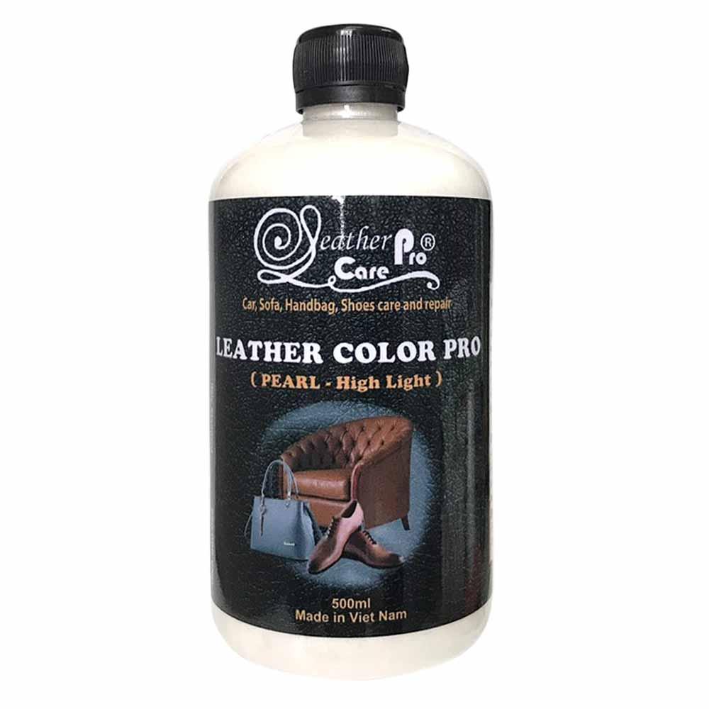 Màu sơn túi xách da, màu sơn ghế da ô tô, giày da – Leather Color Pro (Pearl – High Light)