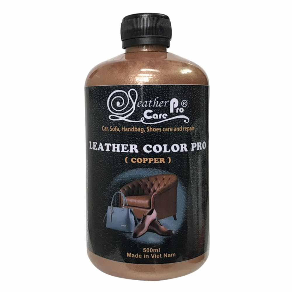 Màu sơn túi xách da, giày da – Leather Color Pro (Copper)