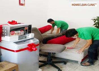 dịch vụ giặt ghế salon vải nỉ