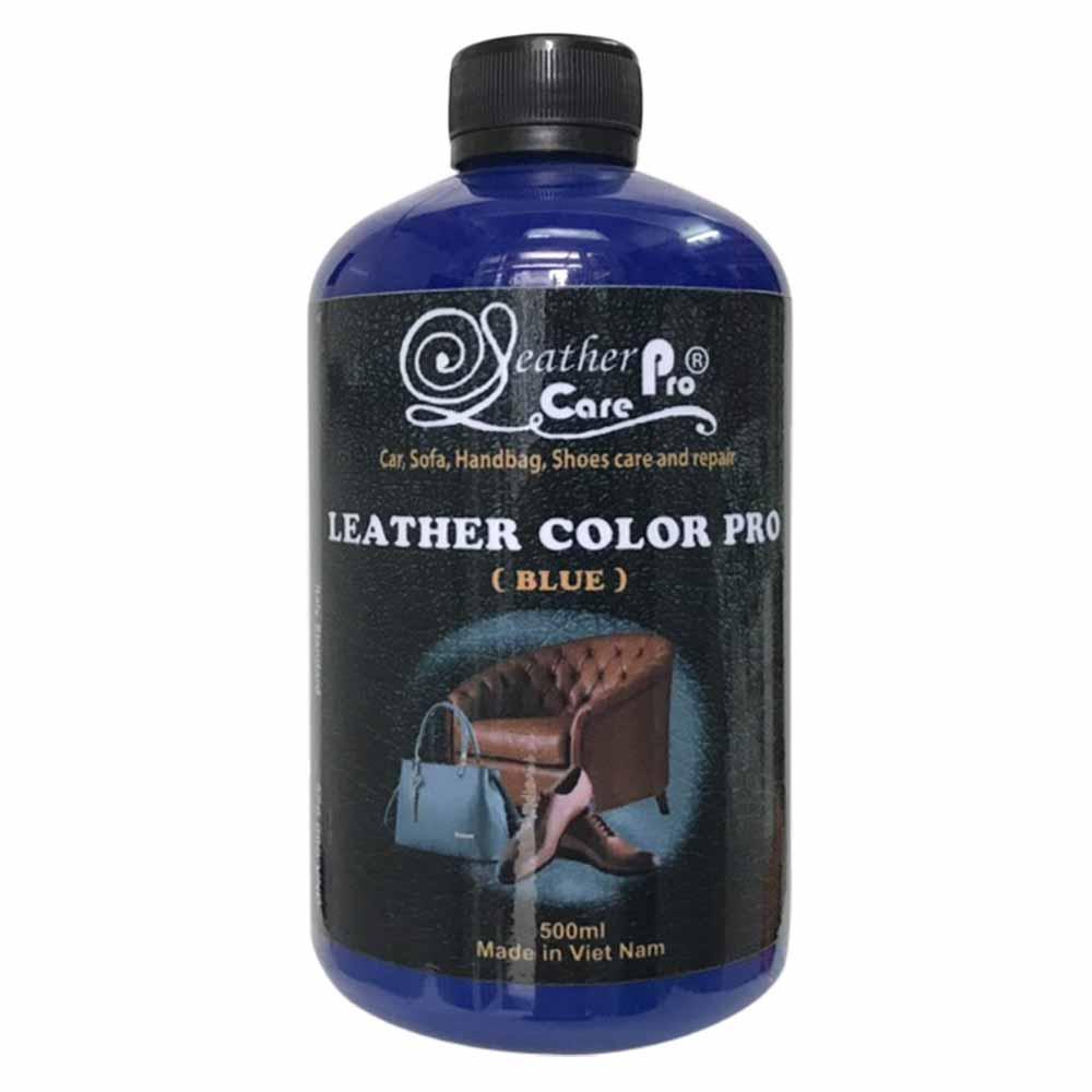 Màu sơn giày da, túi xách da, ghế Sofa da, ghế da xe hơi – Leather Color Pro (Blue)