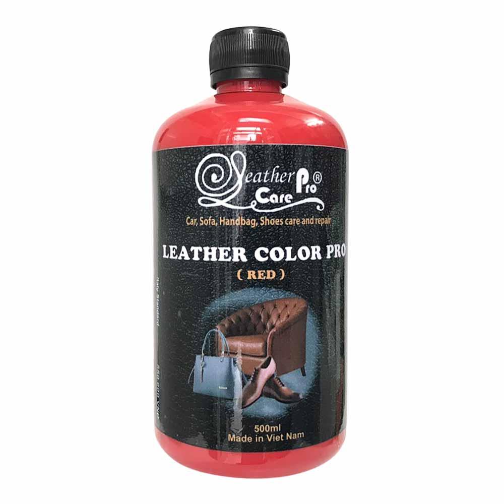 Màu sơn ghế Sofa da, giày da, túi xách da, ghế da xe hơi- Leather Color Pro (Red)