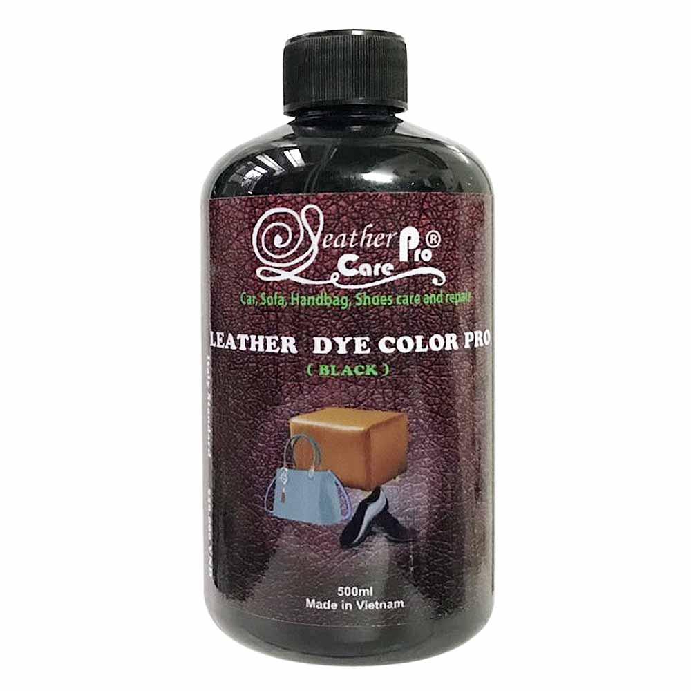 Màu nhuộm da bò, màu nhuộm giày da – Leather Dye Color Pro (Black)
