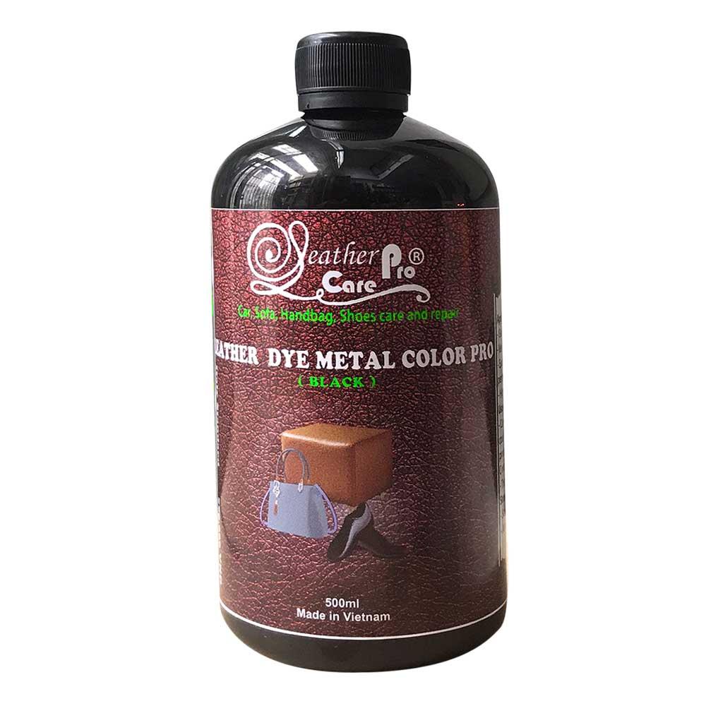 Thuốc nhuộm da Bò, thuốc nhuộm giày da – Leather Dye Metal Color Pro (Black)